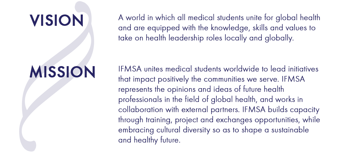 our vision international federation of medical students
