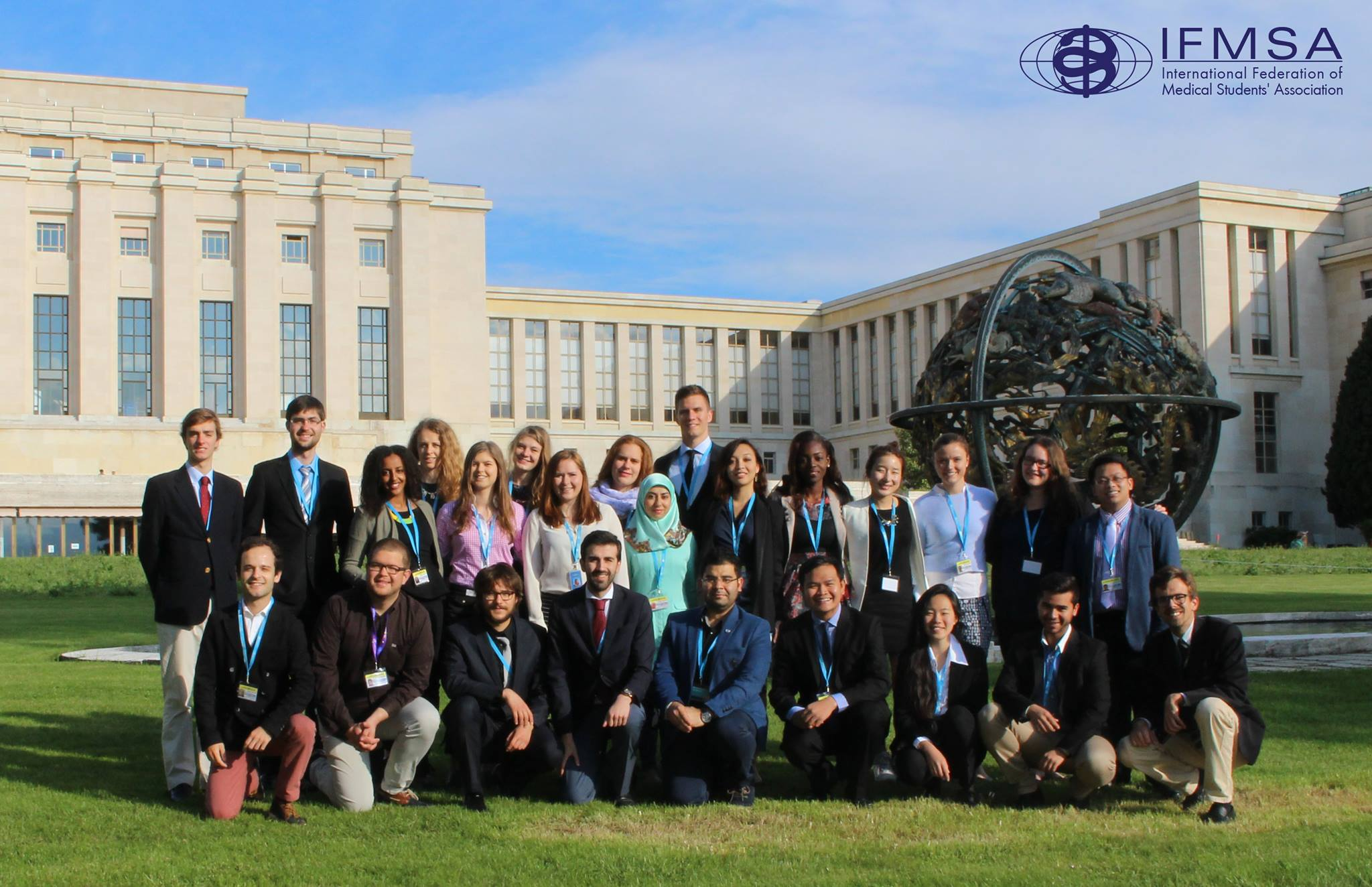 Medical Students Leave a Positive Mark at the 68th World Health Assembly and Tackle the Most Pressing World Health Issues of Today