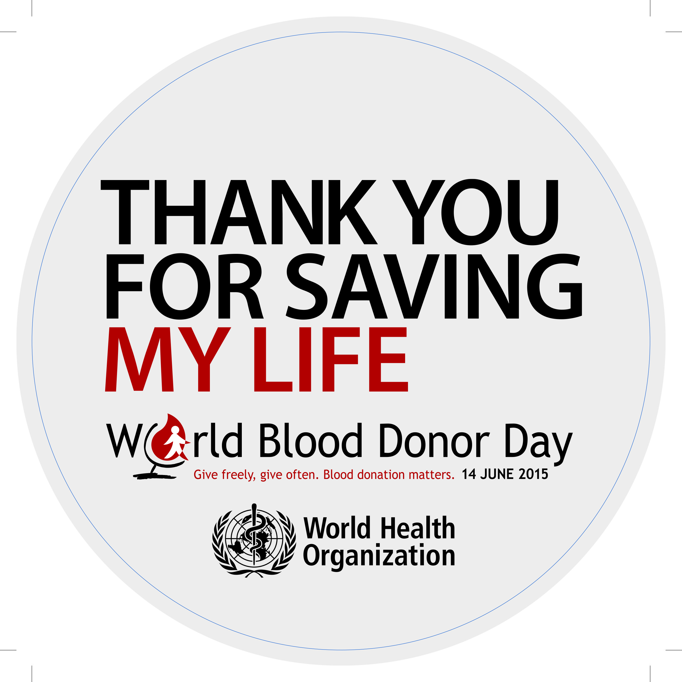 World Blood Donation Day 2015
