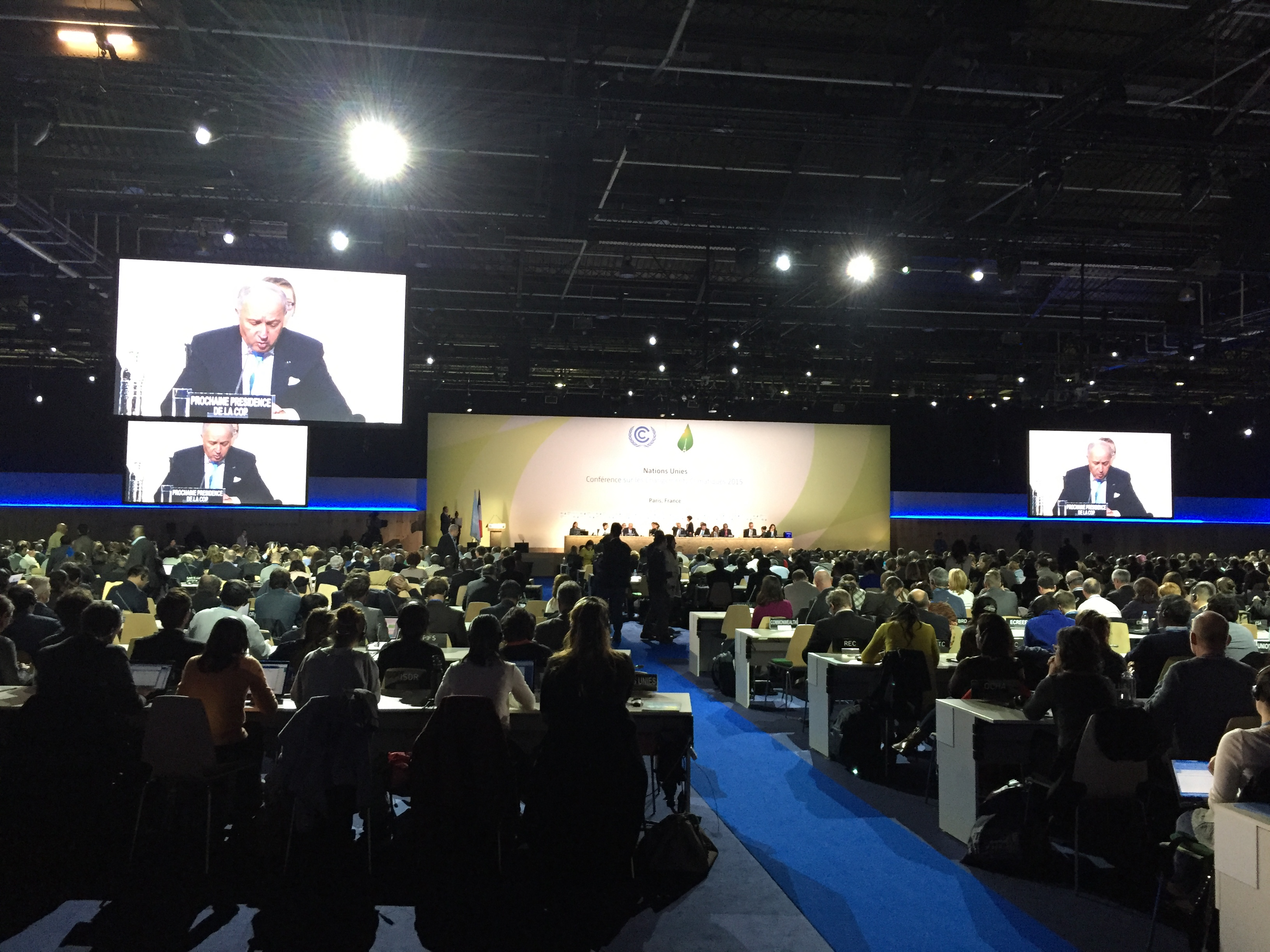 IFMSA Delegation to COP21: And so it Begins!