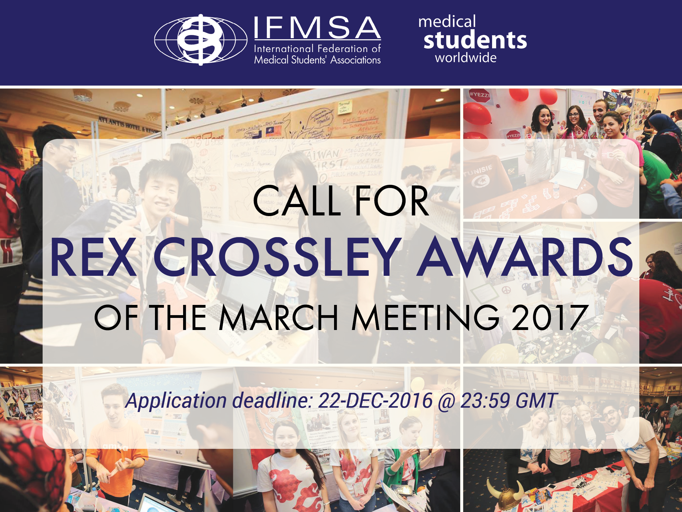 MM2017: Call for Rex Crossley Awards