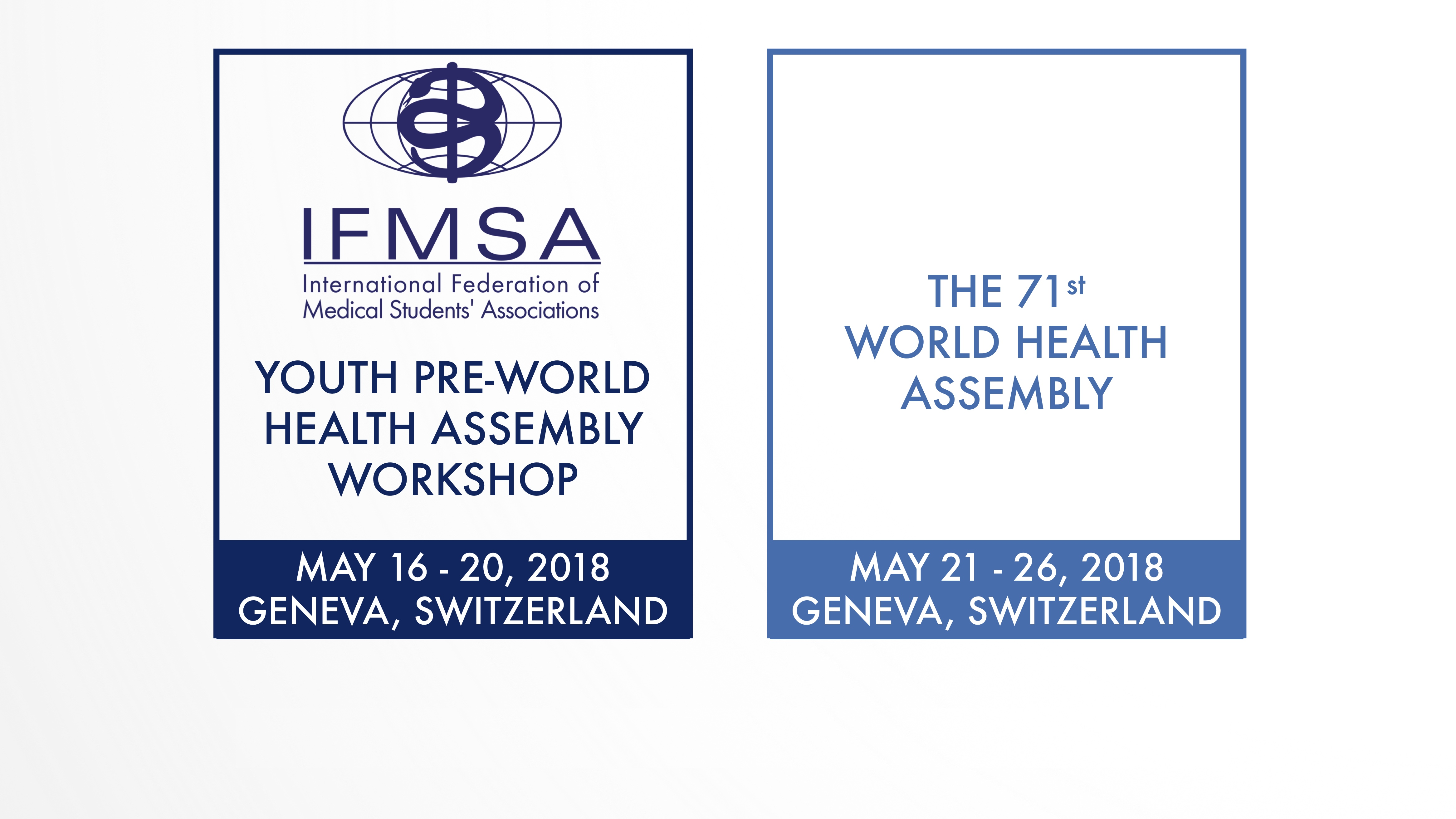 Call for Youth PreWHA Workshop Participants and WHA Delegates