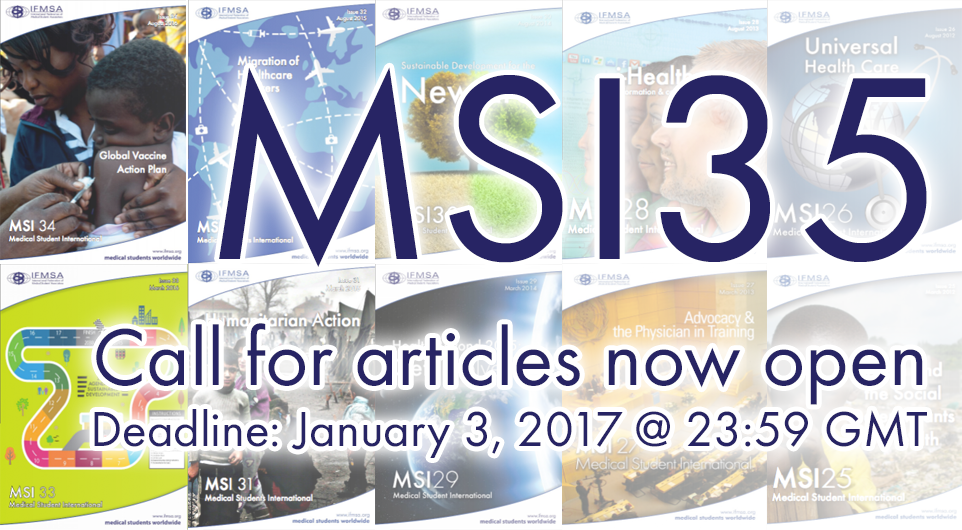MSI 35: Call for Articles