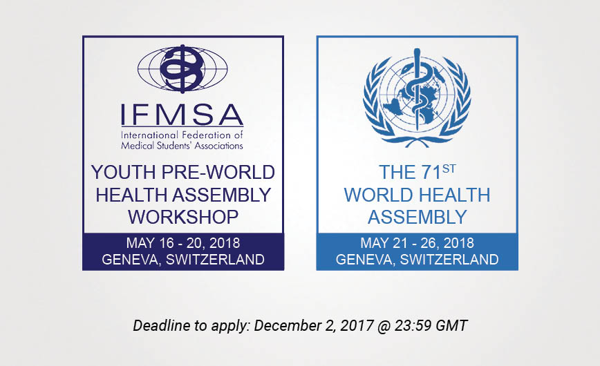 Call for Youth PreWHA Participants and WHA Delegates 2018