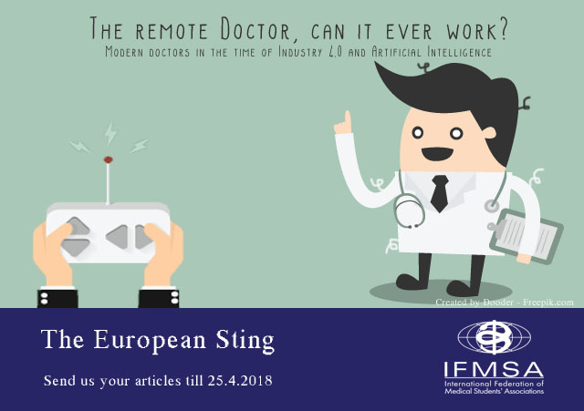 European Sting Call for Articles: The Remote Doctor, Can It Even Work?