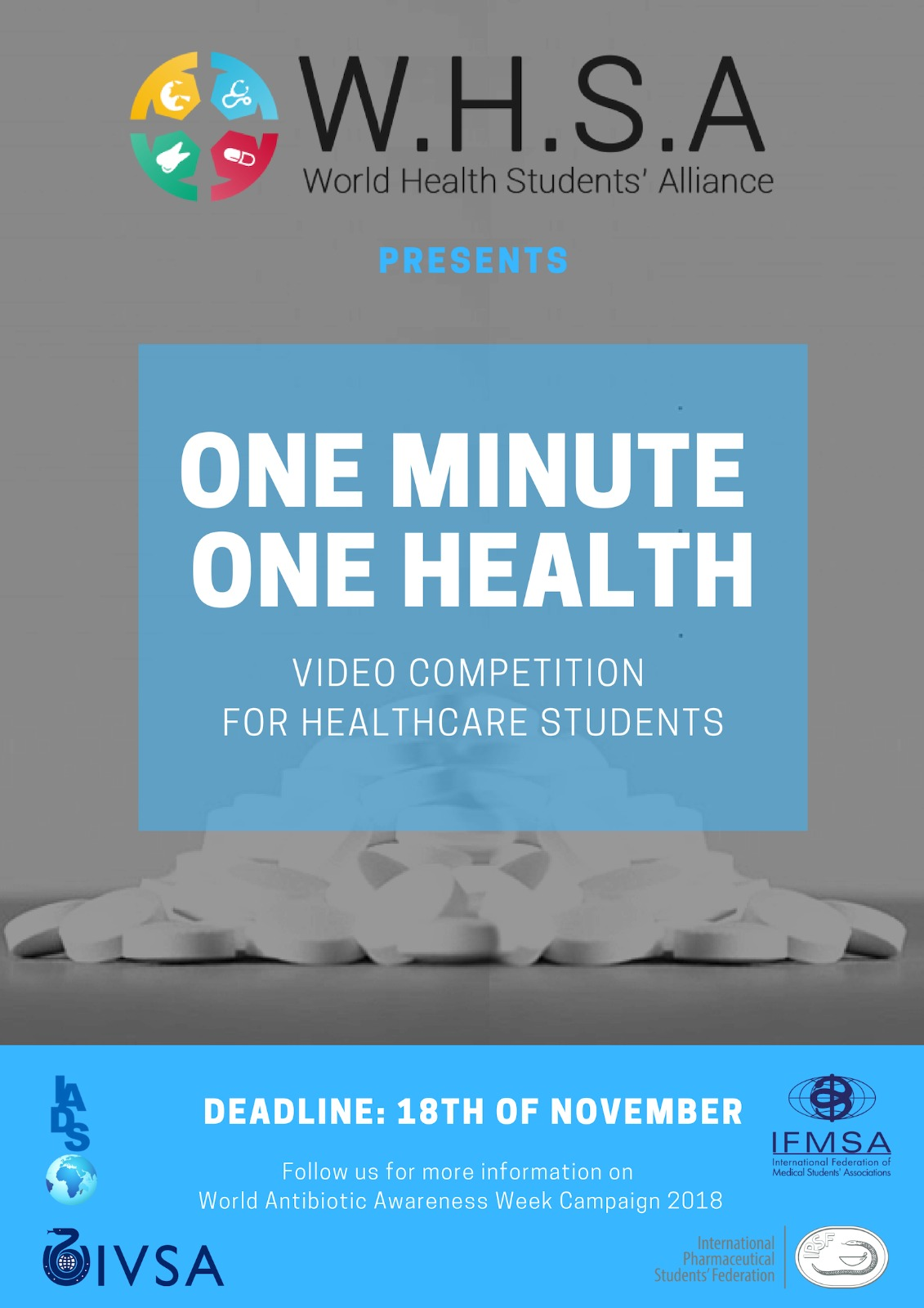One Minute - One Health' Video Competition - International