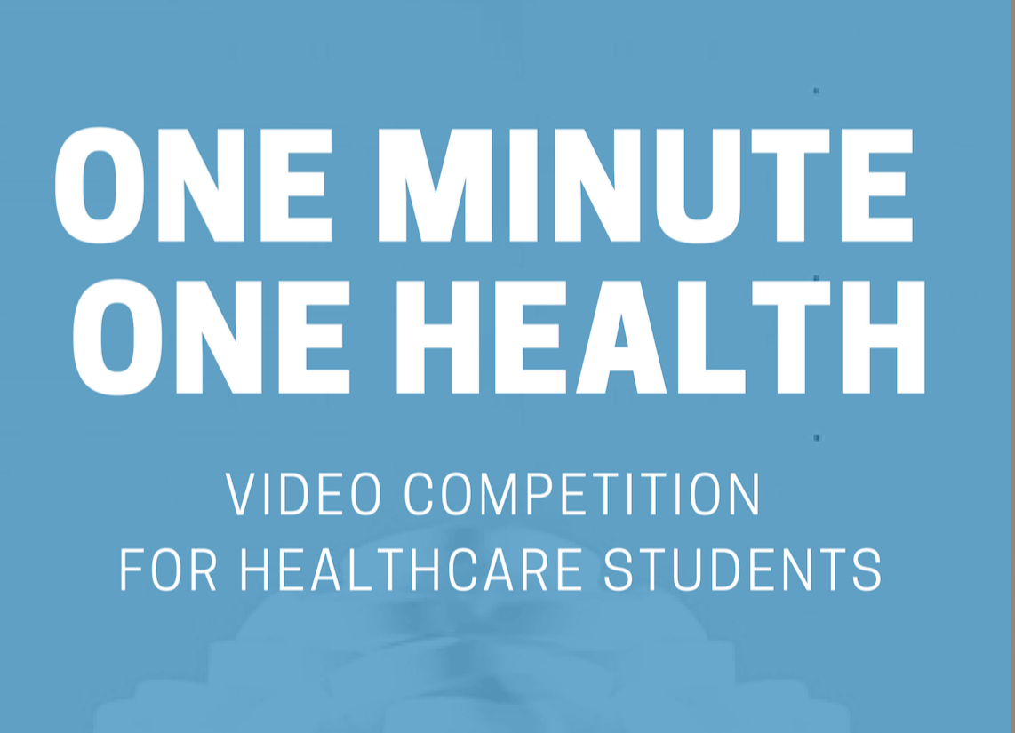 'One Minute – One Health' Video Competition: Meet the winning teams