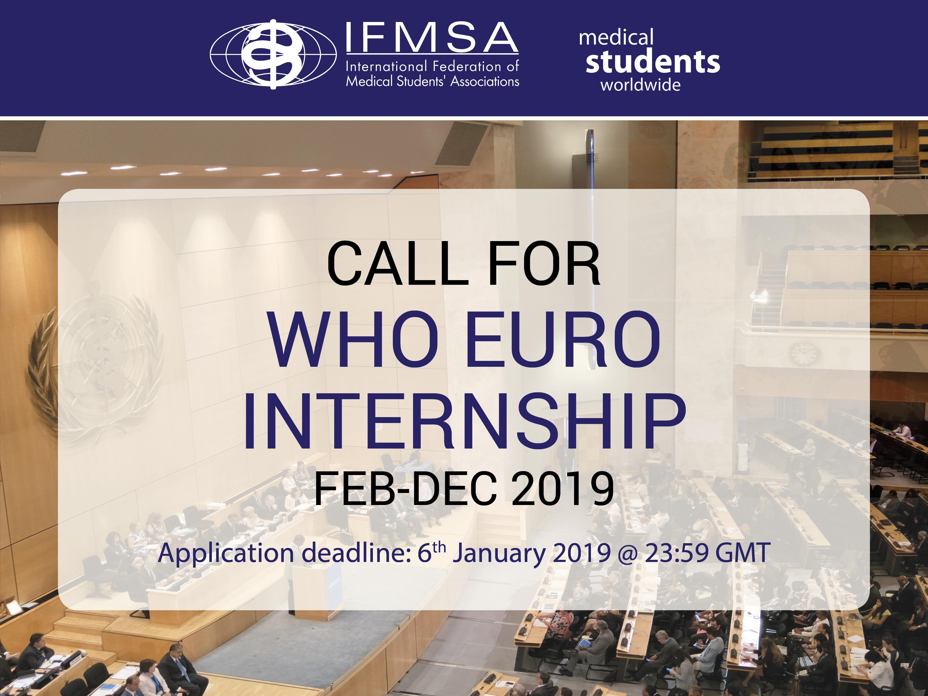 WHO EURO Internship