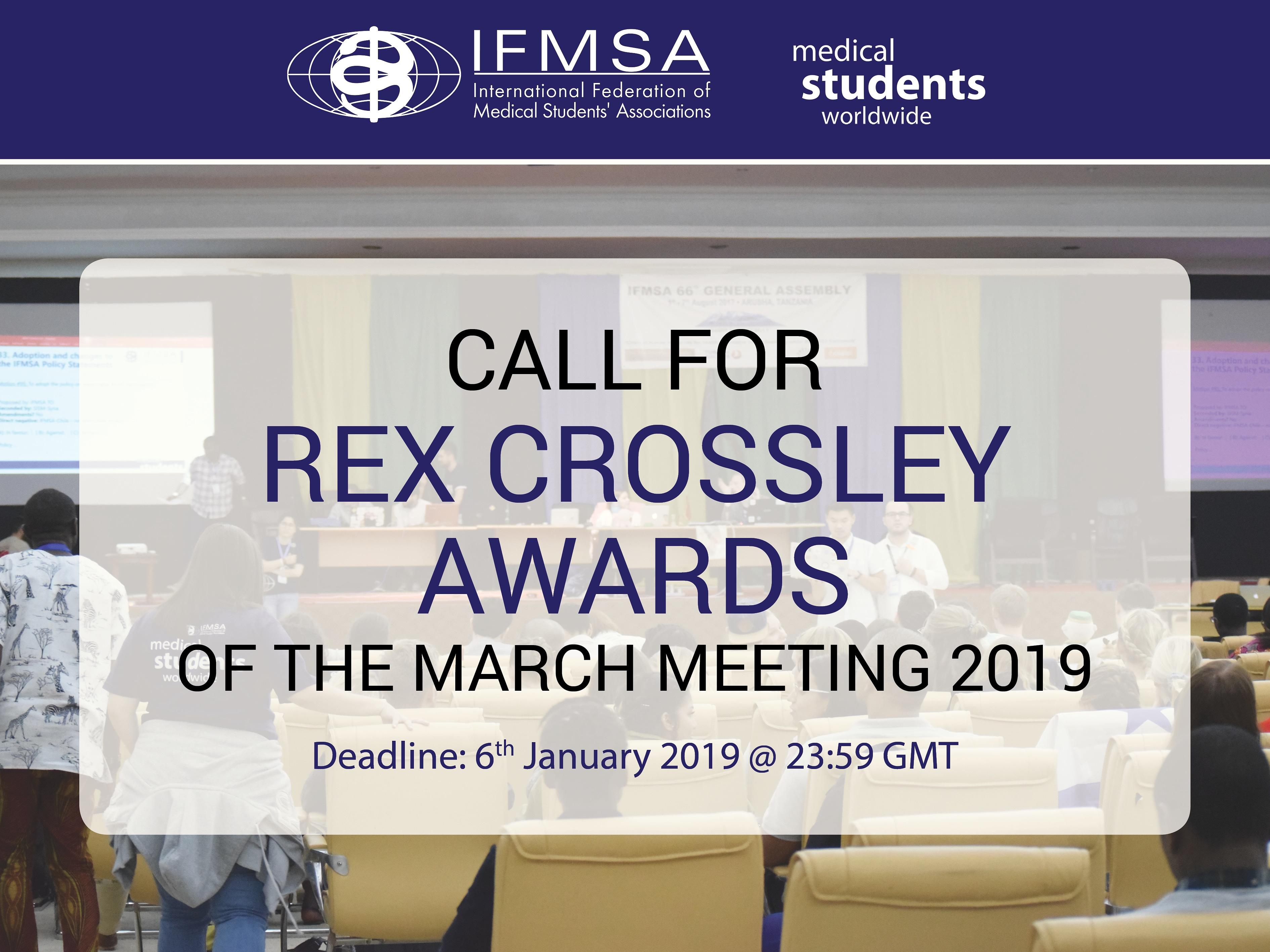 Rex Crossley Awards | MM19