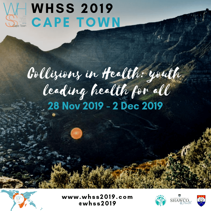 World Healthcare Students' Symposium 2019 – Register now!