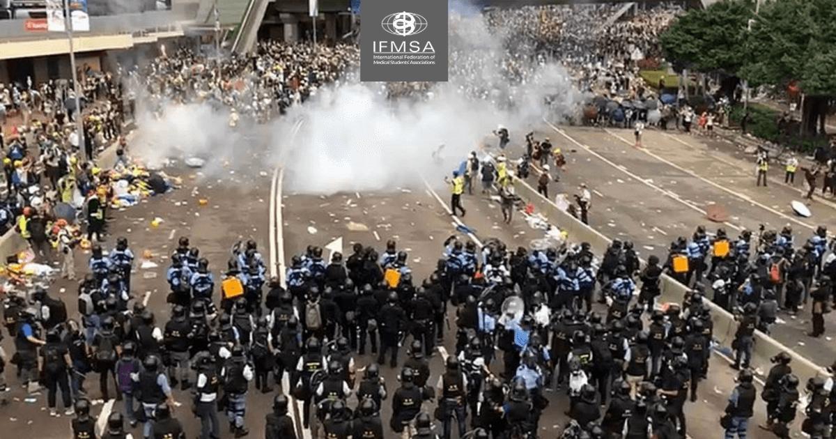 Hong Kong: An Escalating Humanitarian Crisis