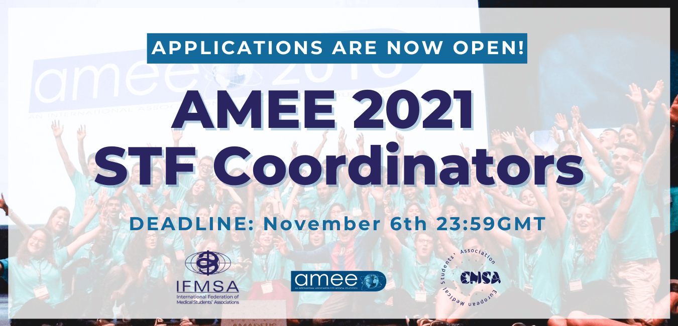 Call for AMEE Student Task Force Coordinators Assistants 2020/2021