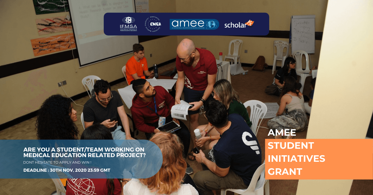 AMEE Student Initiatives Grant Round 2020-2021