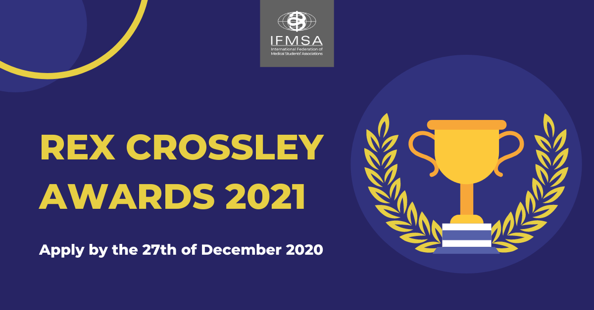 Call for Rex Crossley Awards 2021