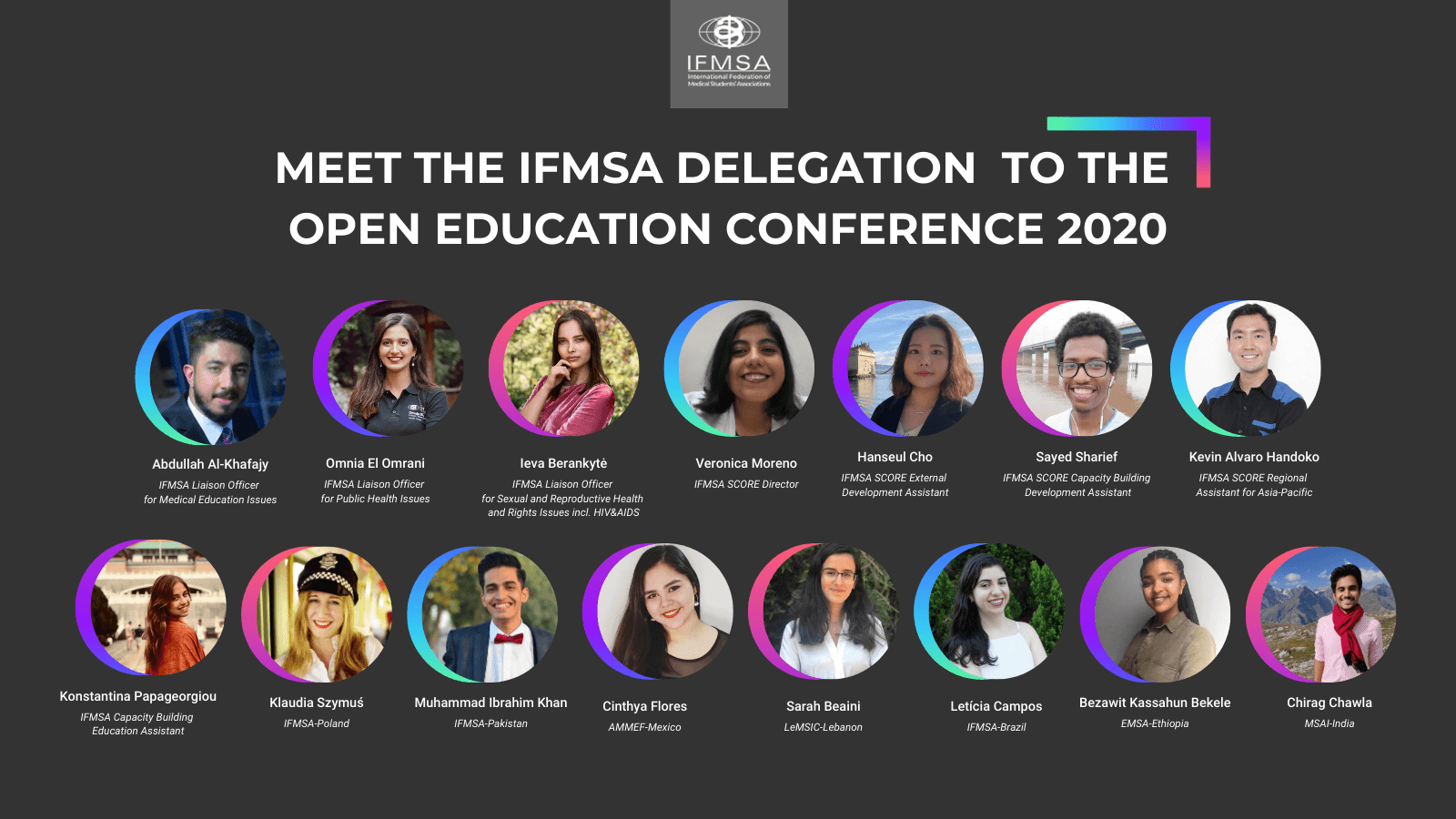 IFMSA Delegation at Open Education Conference 2020